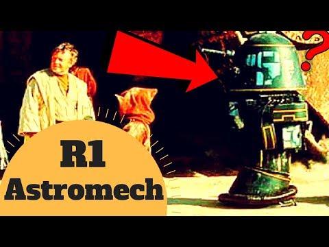 IT GAVE US DROIDSPEAK! -  R1 Astromech Lore - Star Wars Canon and Legends Explained