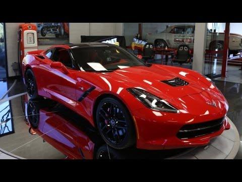 First Look: 2014 Corvette Stingray - Jay Leno