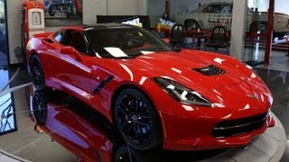 First Look: 2014 Corvette Stingray - Jay Leno