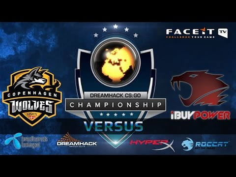iBUYPOWER vs Copenhagen Wolves (Dreamhack Winter 2014 - Groups B & D)