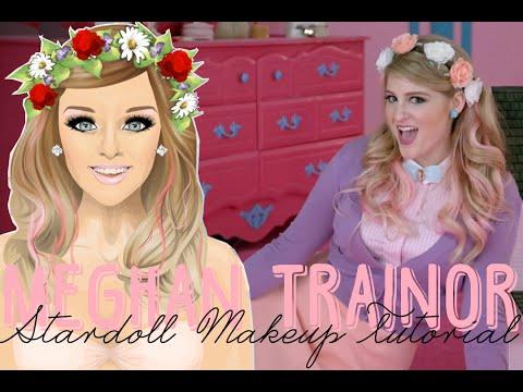 Stardoll Transformation - Meghan Trainor Makeup {All About That Bass}