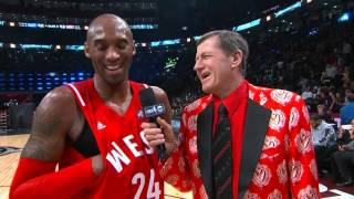 LeBron James Video Bombs Kobe Bryant During Interview with Craig Sager