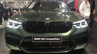 2019 BMW M5 Competition - exclusive first look (crazy individual green color)