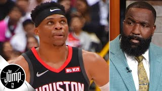 Russell Westbrook isn't changing for anyone including the Rockets - Kendrick Perkins | The Jump Video