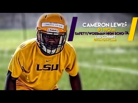 Cameron Lewis Wossman High School Work Out