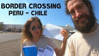 PERU - CHILE Border Crossing with a Truck Camper // Overlanding South America 2020