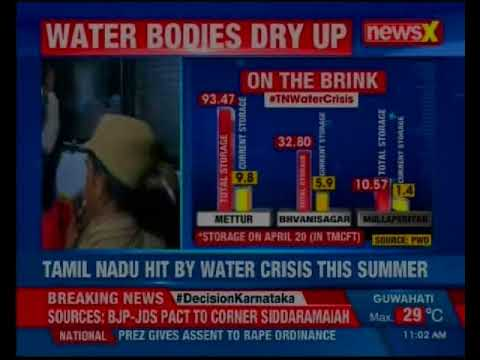 Tamil Nadu hit by water crisis; political play over Cauvery water management formation