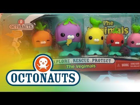 Octonauts Vegimals Bath Toys Unboxing - Codish, Tominnow, Tunip, Barrot, and Grouber!