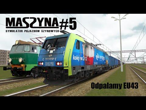 MaSzyna #5 Odpalamy Traxx'a EU43. (Prezentacja)