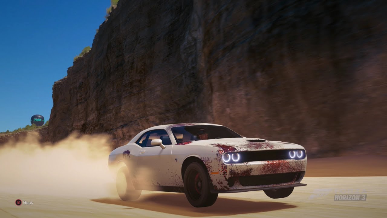 forza horizon 3 800hp awd dodge challenger hellcat off. Black Bedroom Furniture Sets. Home Design Ideas