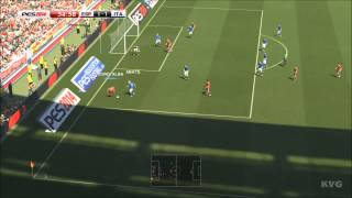 PES 2014 - Spain vs. Italy Gameplay [HD]