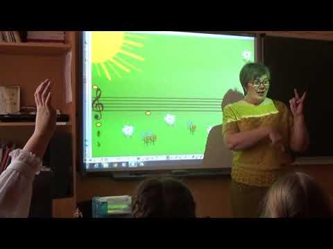 Открытый урок по сольфеджио 2 класс видео