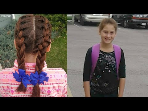 Bus driver helps girl who lost mom with her hair every morning