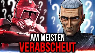 Abscheulich! Die TOP 5 GEHASSTEN Klone der Republik! 212th Star Wars Duell der Favoriten