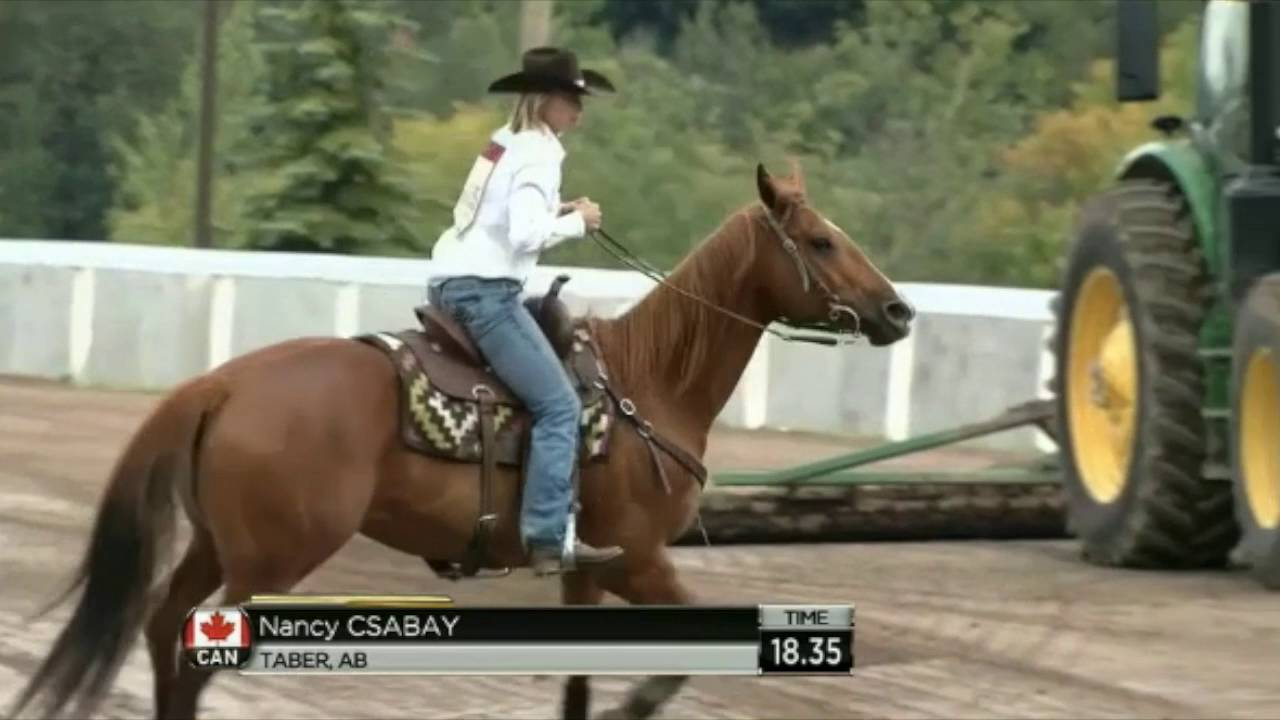 2016 Calgary Stampede Barrel Racing Day 7 Pool B Round 3