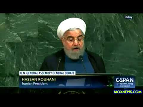 """Deadly Weapons Exports Is NOT Beautiful! PEACE IS BEAUTIFUL!"" Iranian President At U.N.G.A."