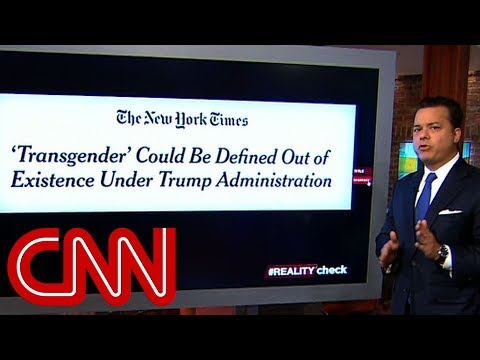 Is Trump trying to write off transgender people? | Reality Check with ...