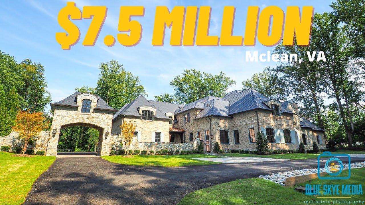 $7.5 Million Mclean Virginia Listing | Mclean Virginia Real Estate Photography