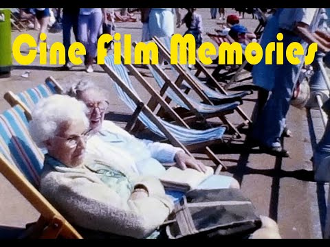 Torbay,  1980's Amateur Cine Film Home Movie