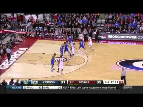 Scoring Inside Against Kentucky(University of Georgia)