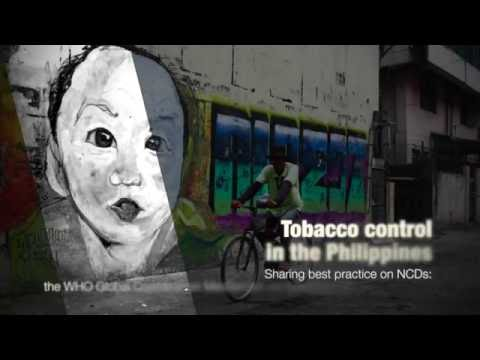 WHO:Sharing best practices on NCDs: Tobacco control in the Philippines