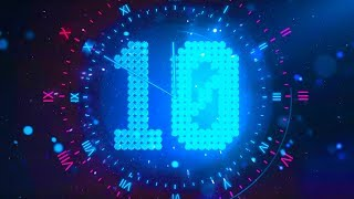 NEW YEAR COUNTDOWN 2019 v 625 30 sec TIMER with sound effects and voice 4k