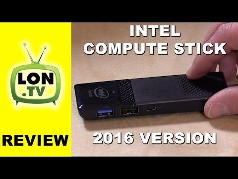 Intel Compute Stick Review - New 2016 Version ! Atom Cherry Trail Chip