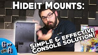 Hide your gaming consoles? What?! - HideIt Console Mounts - Game Away