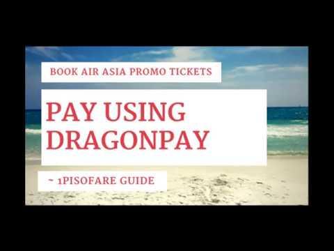 Use DragonPay to Pay AirAsia Tickets