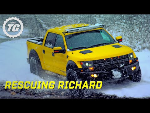 Rescuing Richard From Lone Wolf Mountain | Top Gear | Series 22 | BBC