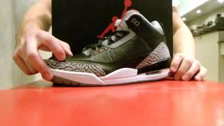 "Air Jordan III Retro ""Black Cement"" Review at Exit 36"