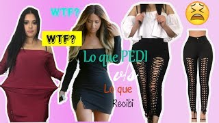 Lo que pedi vs lo que recibi en ALIEXPRESS y WISH con Horrores y Encantos | Diamantias