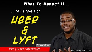Deductions for uber drivers