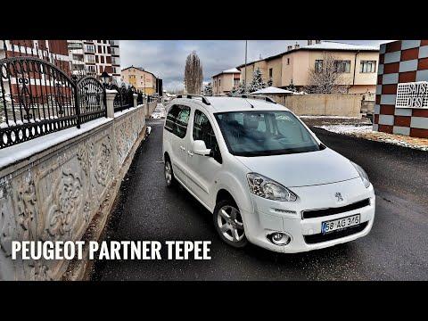 Kitabın Tam Ortası   Peugeot PARTNER Tepee   Otomobil Günlüklerim