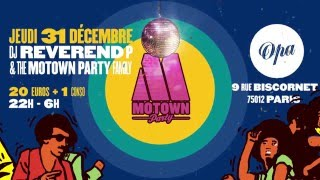 Motown Party New Year
