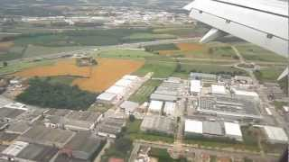 Landing at Girona Airport, Spain, aboard Ryanair (June 2012)
