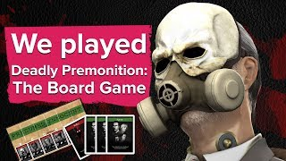 We played Deadly Premonition The Board Game