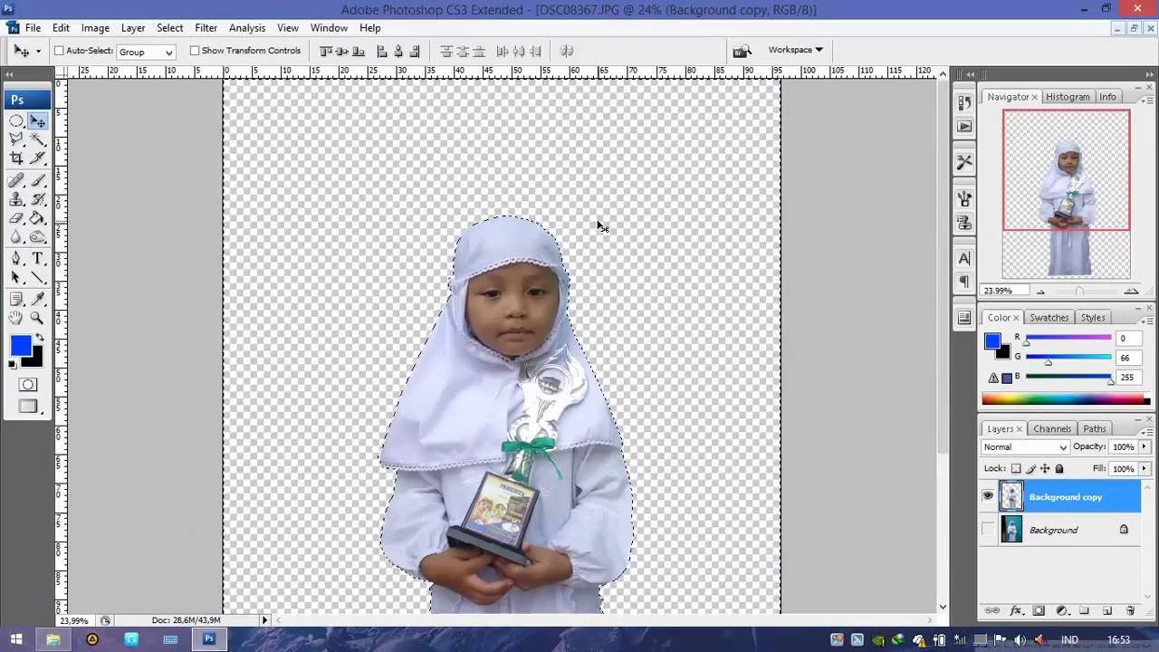 Cara Memotong Atau Menyeleksi Gambar Di Adobe Photoshop ...