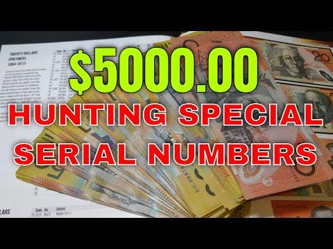 $5000 Australian Banknote Hunt