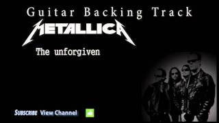 Metallica - The unforgiven (Guitar Backing Track)
