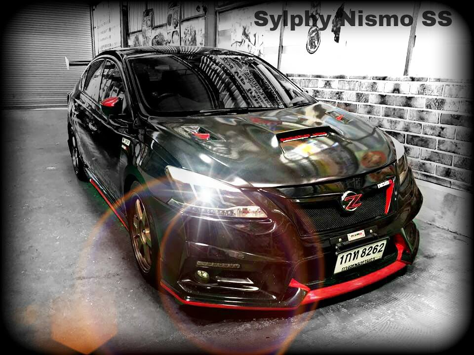 ชุดแต่ง Sylphy ทรง Super Sport จาก NEKKETSU racing - YouTube