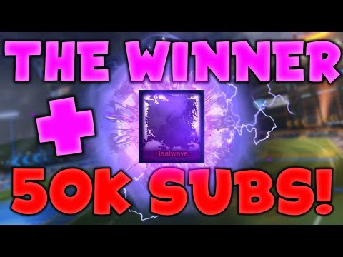 *OMG* 50,000 SUBSCRIBER SPECIAL! - WINNER OF THE HEATWAVE GIVEAWAY | PLUS NEW GIVEAWAY!