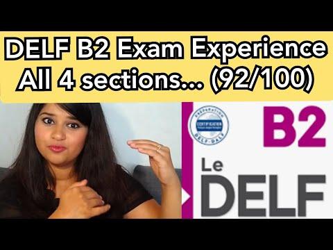 DELF B2 Examen | My Exam Experience | Score 91.5/100