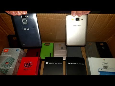 SCORED PHONES!!! HUGE PHONE STORE HAUL! Samsung, Android Display JACKPOT