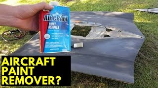 How to strip paint with aircraft remover