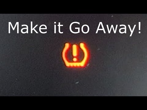 Tire Pressure Light Won't Turn Off: Honda Fit and Accord