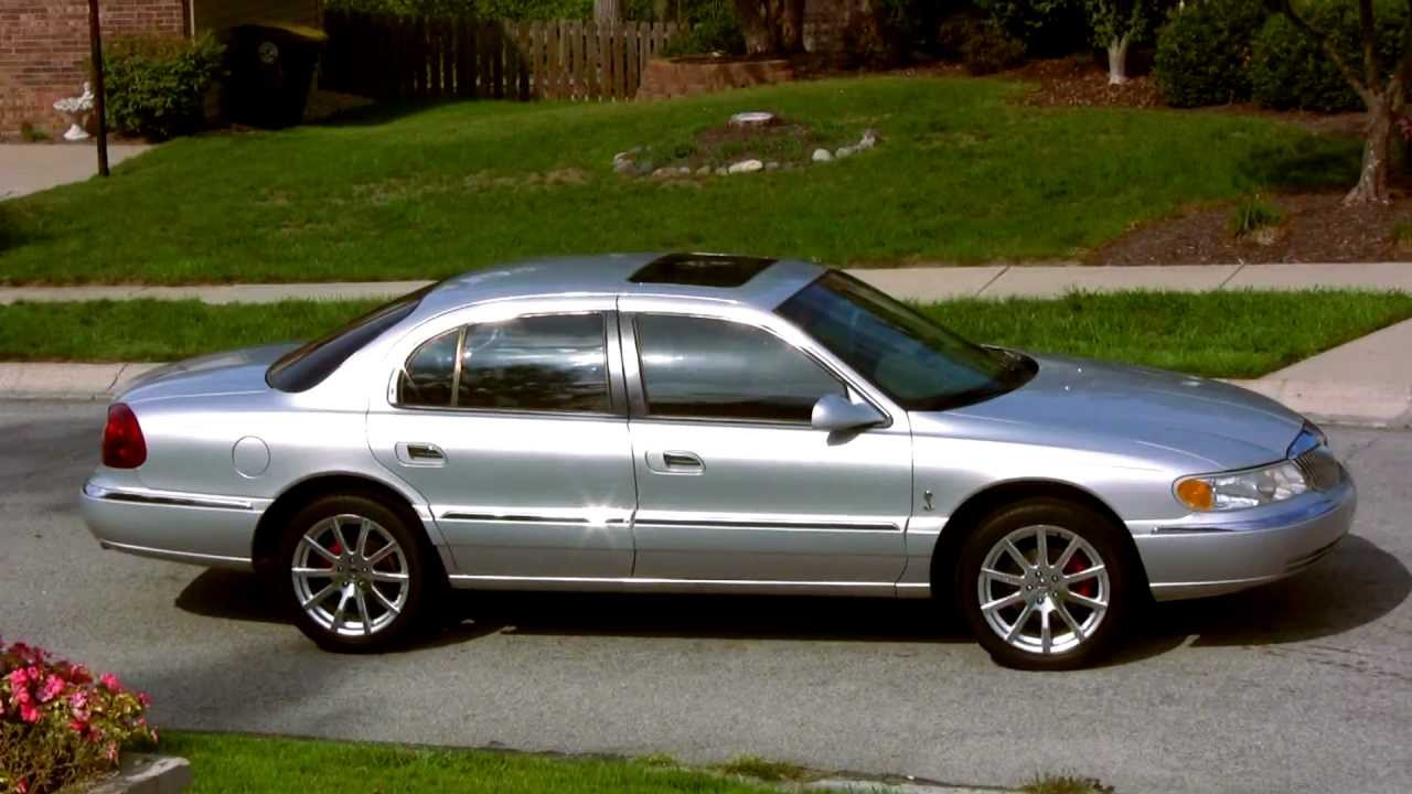 2001 Lincoln Continental .m2t - YouTube