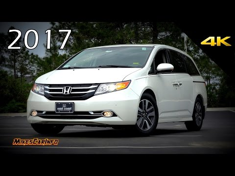 2017 Honda Odyssey Touring Elite - Ultimate In-Depth Look in 4K