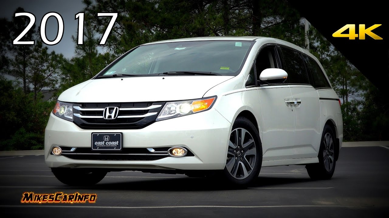2017 Honda Odyssey >> 2017 Honda Odyssey Touring Elite Ultimate In Depth Look In 4k