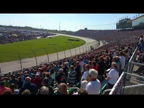 Kansas Speedway flyover 2016
